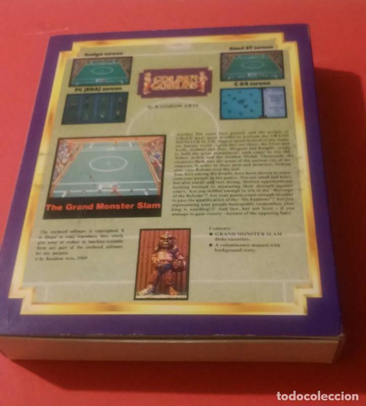 Videojuegos y Consolas: videojuego grand slam monster amiga coleccionistas - Foto 7 - 105390747