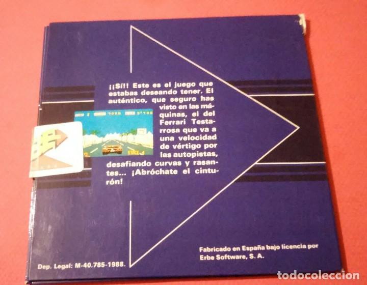 Videojuegos y Consolas: videojuego out run coleccionista completo commodore amiga - Foto 2 - 105864115