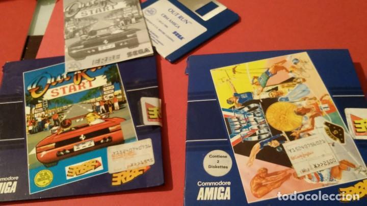 Videojuegos y Consolas: videojuego out run coleccionista completo commodore amiga - Foto 3 - 105864115