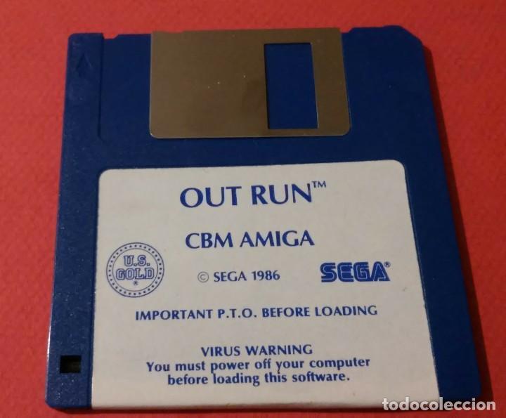 Videojuegos y Consolas: videojuego out run coleccionista completo commodore amiga - Foto 4 - 105864115