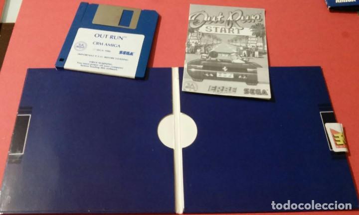Videojuegos y Consolas: videojuego out run coleccionista completo commodore amiga - Foto 5 - 105864115