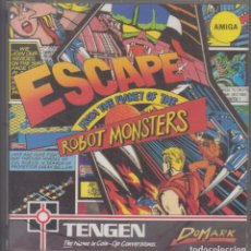 Videojuegos y Consolas: ESCAPE FROM THE PLANET OF THE ROBOT MONSTERS VIDEOJUEGO DISCO COMMODORE AMIGA 1990. Lote 106580999