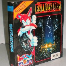 Videojuegos y Consolas: BATTLESTORM [TITUS SOFTWARE] 1991 [FOX HITS] [COMMODORE AMIGA]. Lote 107225467