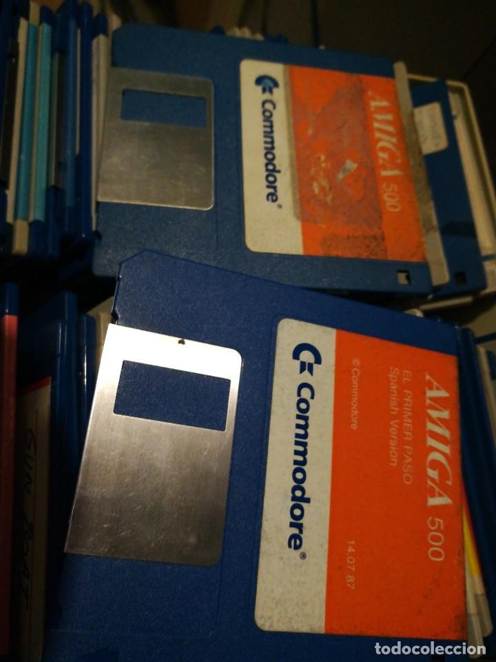 DISKETTE COMMODORE AMIGA 500 EL PRIMER PASO (Juguetes - Videojuegos y Consolas - Amiga)
