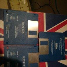 Videojuegos y Consolas: 3 DISQUETES ORDENADOR COMMODORE AMIGA - . Lote 112270855