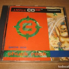 Videojuegos y Consolas - CHUCK ROCK AMIGA CD 32 VERSION PAL - 114681919
