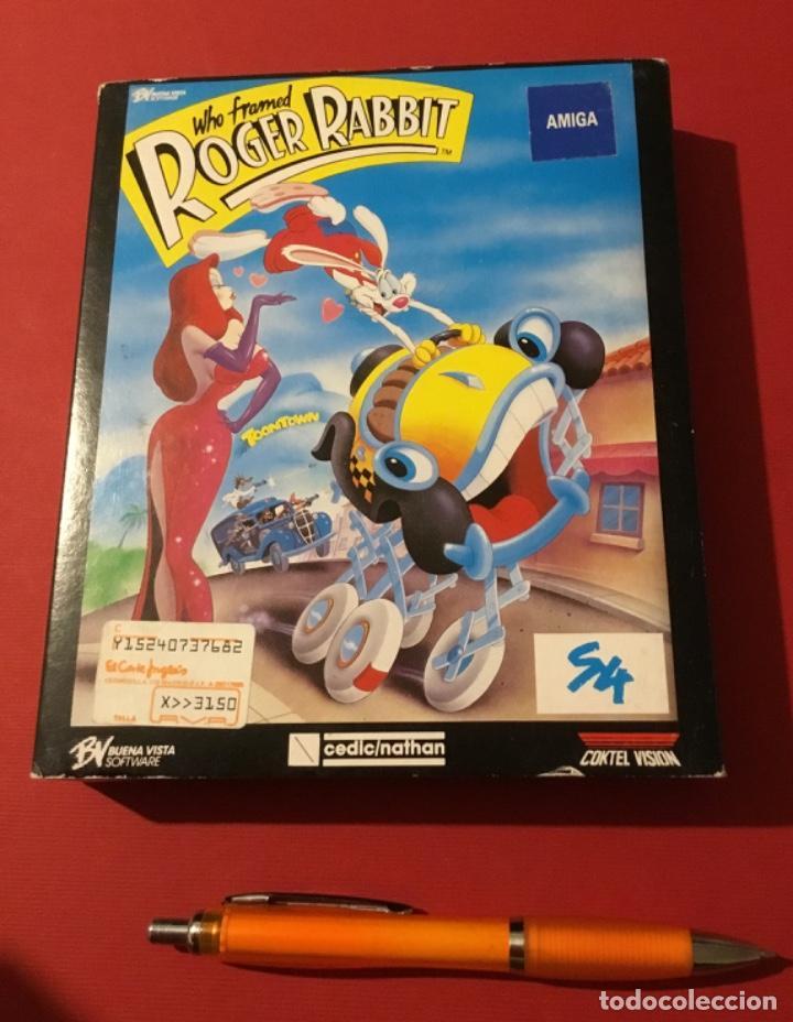 VIDEOJUEGO ROGER RABBIT AMIGA EDICIÓN COLECCIONISTA 1987 (Juguetes - Videojuegos y Consolas - Amiga)