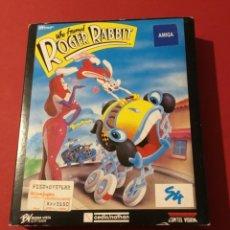 Videojuegos y Consolas: VIDEOJUEGO ROGER RABBIT AMIGA EDICIÓN COLECCIONISTA 1987. Lote 117175595