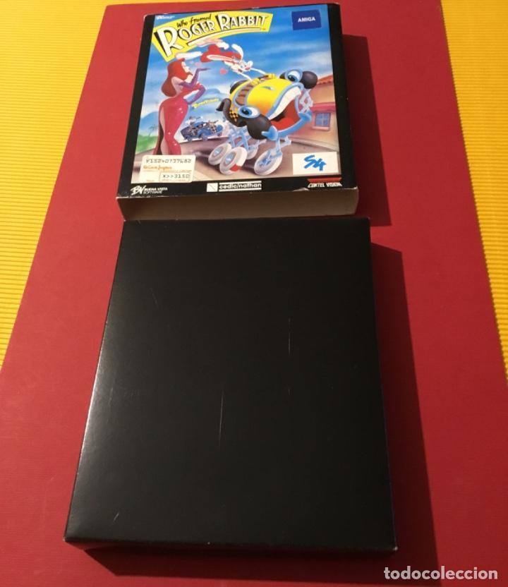 Videojuegos y Consolas: Videojuego Roger rabbit amiga edición coleccionista 1987 - Foto 4 - 117175595
