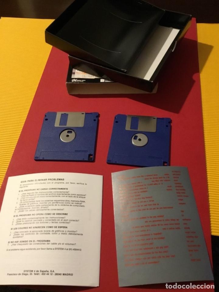 Videojuegos y Consolas: Videojuego Roger rabbit amiga edición coleccionista 1987 - Foto 7 - 117175595