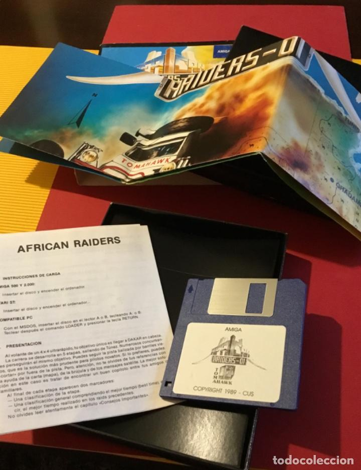 Videojuegos y Consolas: Videojuego african raiders amiga edición coleccionista caja - Foto 6 - 117178499