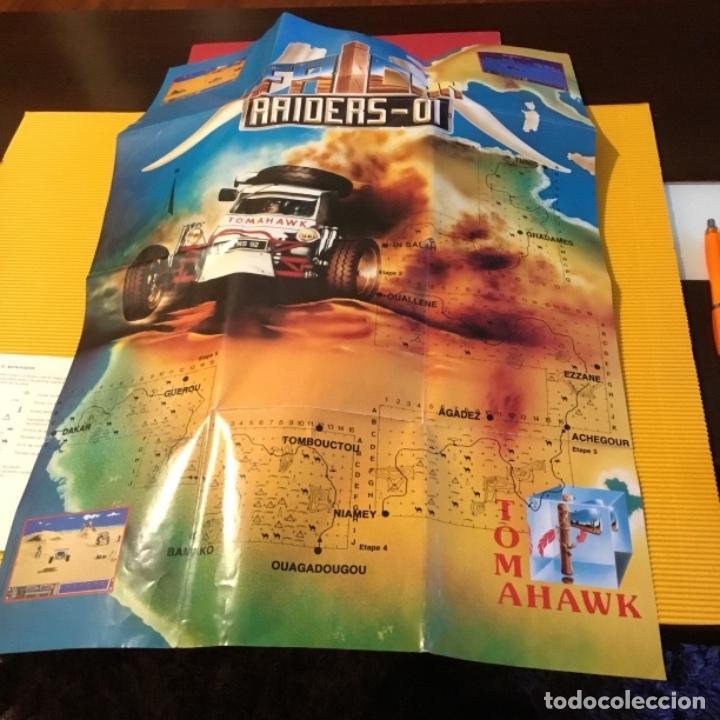 Videojuegos y Consolas: Videojuego african raiders amiga edición coleccionista caja - Foto 7 - 117178499