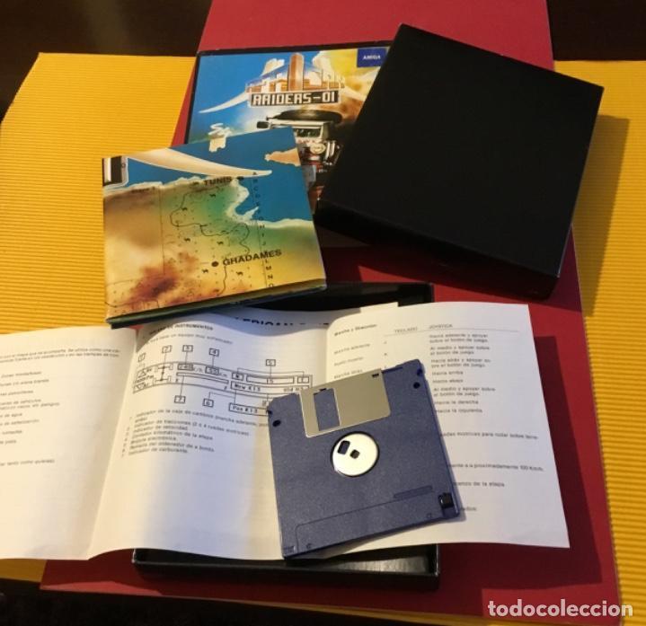 Videojuegos y Consolas: Videojuego african raiders amiga edición coleccionista caja - Foto 8 - 117178499