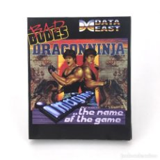 Videojuegos y Consolas: DRAGON NINJA, BAD DUDES VS REPRO DISKETTE 3½ CBM COMMODORE AMIGA DISK REPRODUCCION JUEGO NO ORIGINAL. Lote 117390335