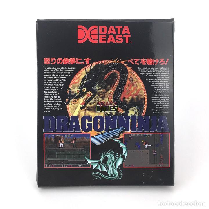 Videojuegos y Consolas: DRAGON NINJA, BAD DUDES VS REPRO DISKETTE 3½ CBM COMMODORE AMIGA DISK REPRODUCCION JUEGO NO ORIGINAL - Foto 3 - 117390335