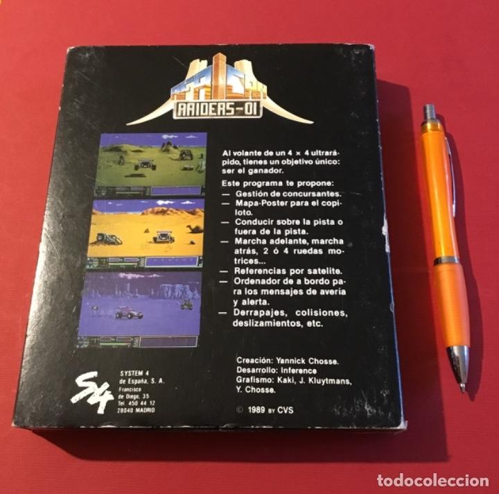 Videojuegos y Consolas: Videojuego african raiders amiga edición coleccionista caja - Foto 9 - 117178499