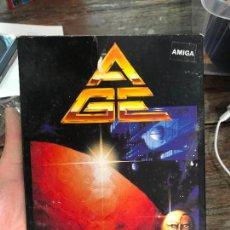Videojuegos y Consolas: AGE, IMPERIO GALACTICO AVANZADO - JUEGO PARA AMIGA EN CASTELLANO - COMPLETO. Lote 118950919