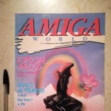 Videojuegos y Consolas: ANTIGUA REVISTA - AMIGA WORLD - ORDENADOR - COMMODORE - NUMERO 4 - AÑO 1989. Lote 121678571