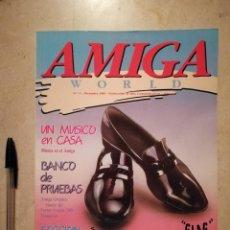 Videojuegos y Consolas: ANTIGUA REVISTA - AMIGA WORLD - ORDENADOR - COMMODORE - NUMERO 5 - AÑO 1989. Lote 121678575