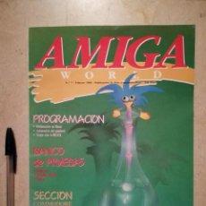 Videojuegos y Consolas: ANTIGUA REVISTA - AMIGA WORLD - ORDENADOR - COMMODORE - NUMERO 7 - AÑO 1990. Lote 121678583