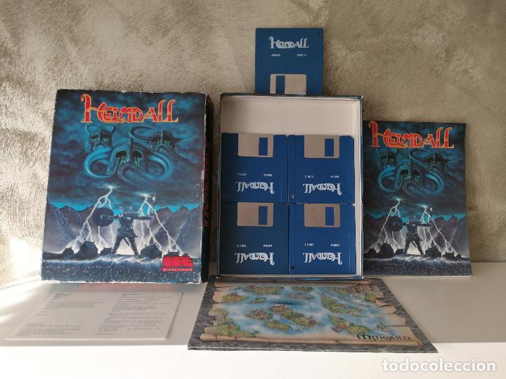HEIMDALL COMMODORE AMIGA COMPLETO (Juguetes - Videojuegos y Consolas - Amiga)