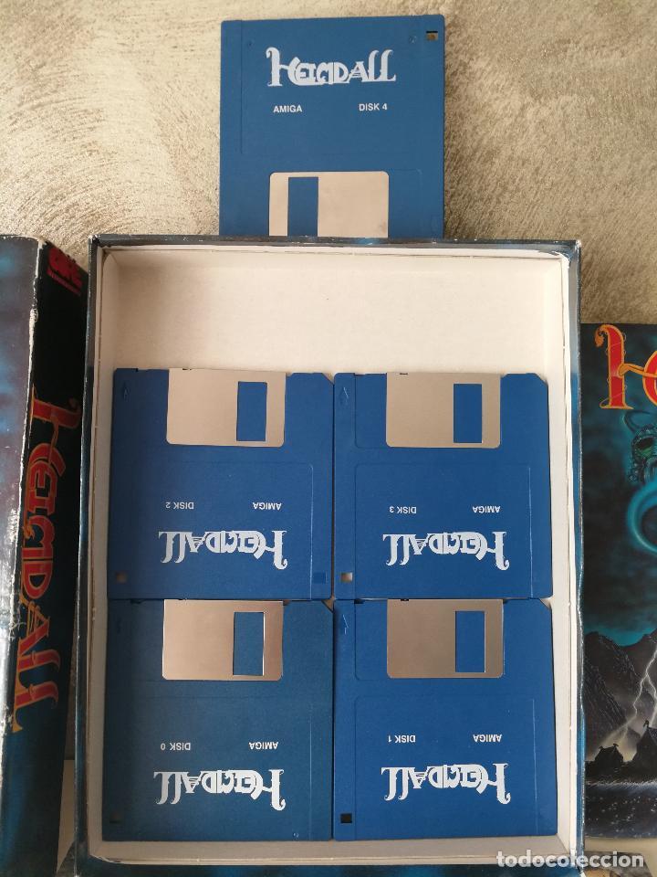 Videojuegos y Consolas: HEIMDALL COMMODORE AMIGA COMPLETO - Foto 3 - 126528899