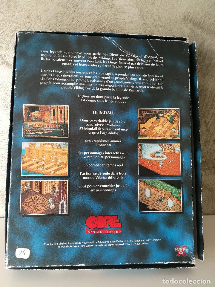 Videojuegos y Consolas: HEIMDALL COMMODORE AMIGA COMPLETO - Foto 8 - 126528899