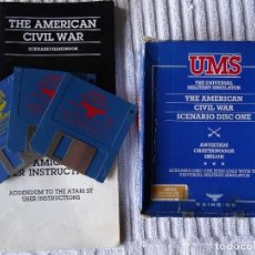 Videojuegos y Consolas: JUEGO PARA COMMODORE AMIGA - UMS THE AMERICAN CIVIL WAR SCENARIO CAJA GIGANTE ESPAÑOL. Lote 129265047