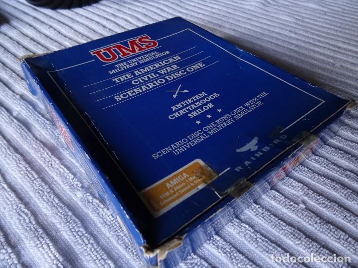 Videojuegos y Consolas: COMMODORE AMIGA - UMS The American Civil War Scenario CAJA GIGANTE ESPAÑOL - Foto 2 - 129265047