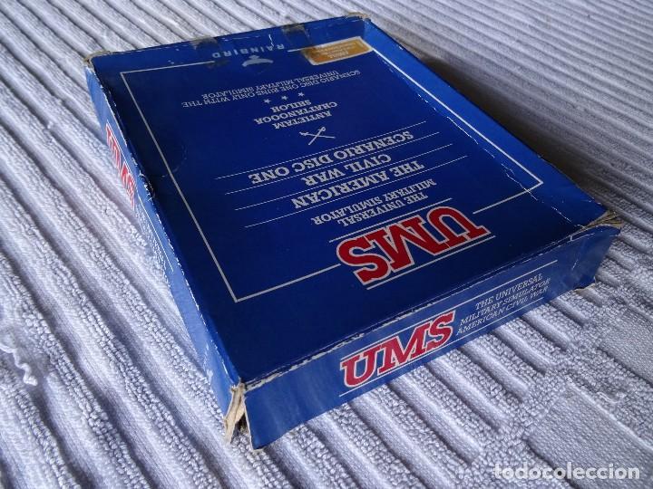 Videojuegos y Consolas: COMMODORE AMIGA - UMS The American Civil War Scenario CAJA GIGANTE ESPAÑOL - Foto 3 - 129265047