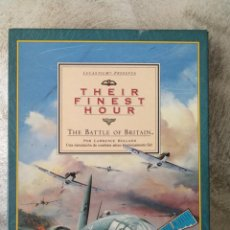 Videojuegos y Consolas: THEIR FINEST HOUR COMMODORE AMIGA ERBE . Lote 130598510