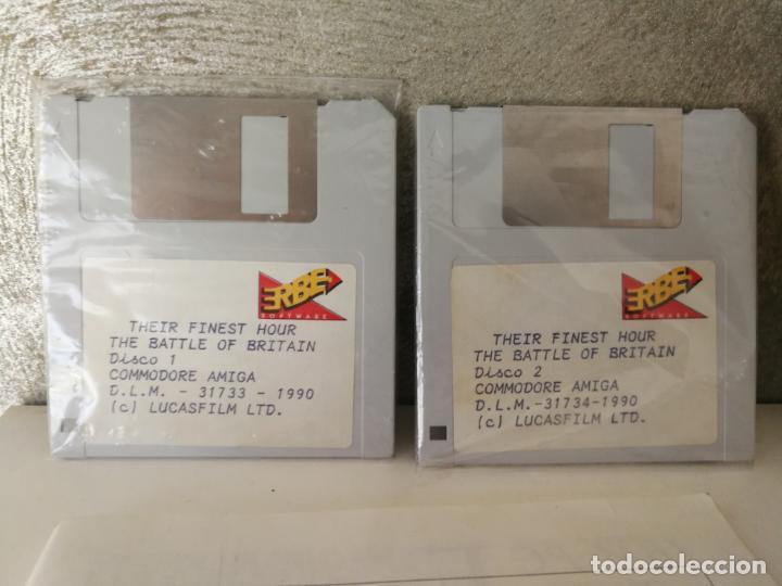 Videojuegos y Consolas: THEIR FINEST HOUR COMMODORE AMIGA ERBE - Foto 4 - 130598510