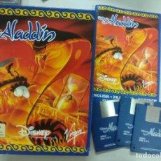 Videojuegos y Consolas: ALADDIN - COMPLETO - BIG BOX - CAJA GRANDE - AMIGA. Lote 262768420