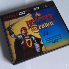 Videojuegos y Consolas: COMMODORE AMIGA CD32 DEFENDER OF THE CROWN REPRO. Lote 132200850