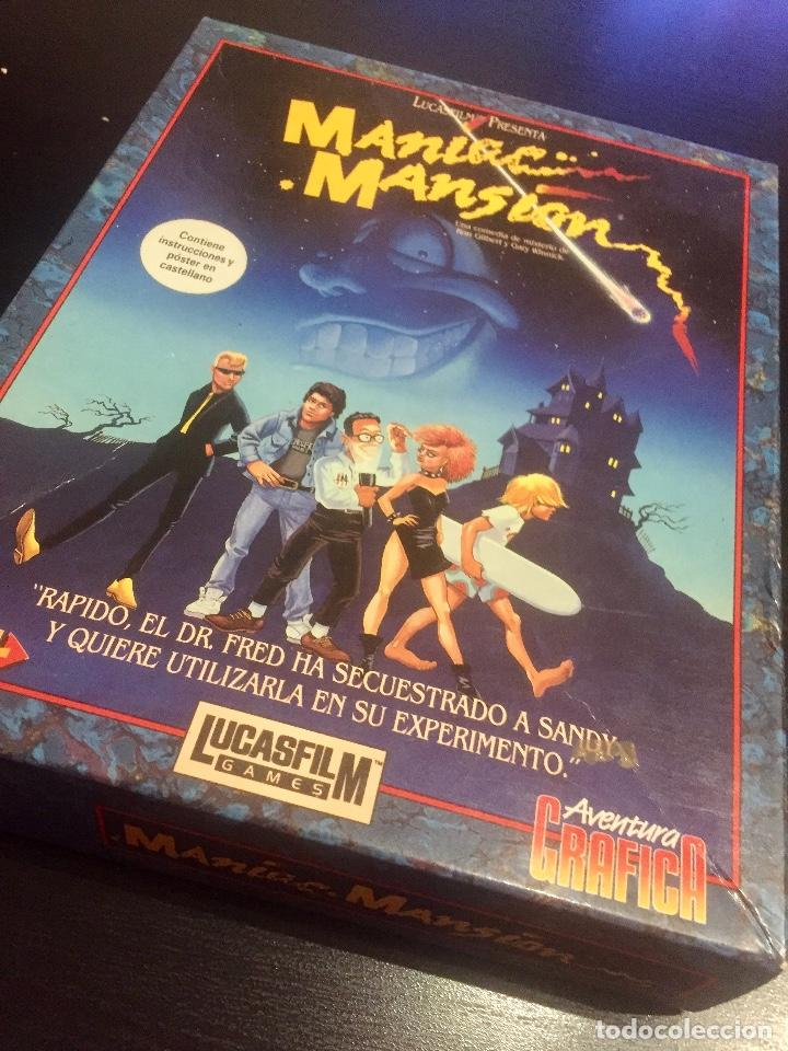JUEGO MANIAC MANSION (Juguetes - Videojuegos y Consolas - Amiga)