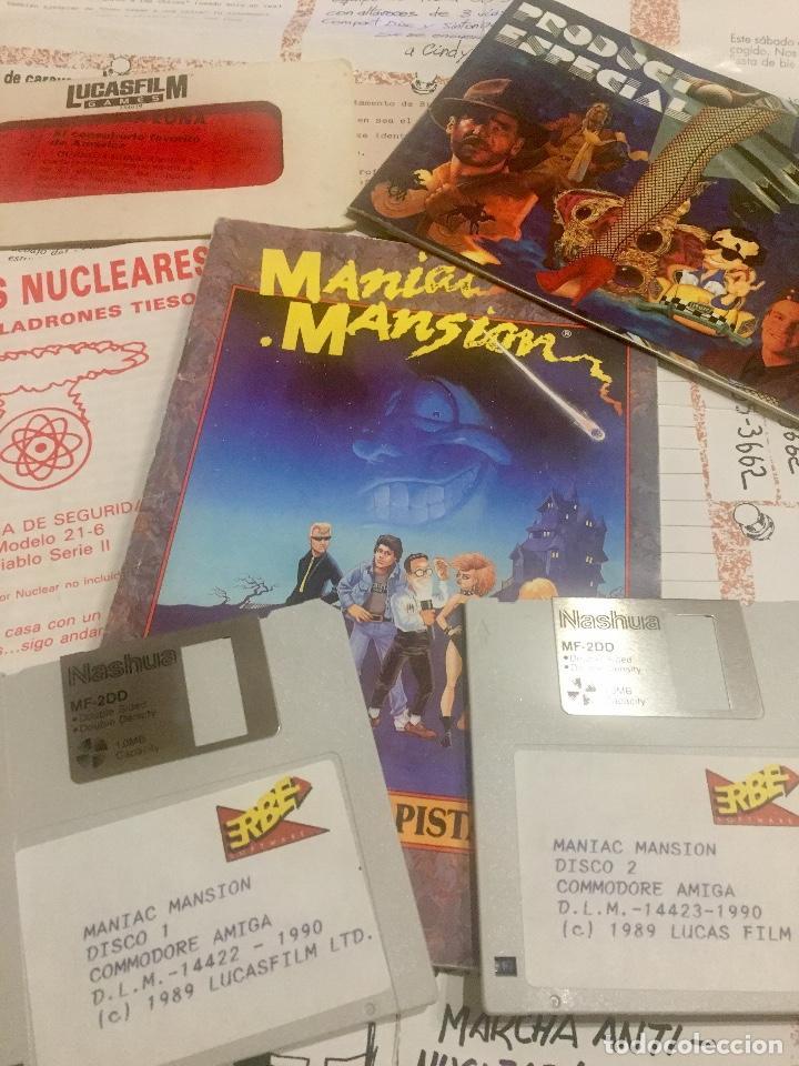 Videojuegos y Consolas: Juego Maniac Mansion - Foto 3 - 134342394