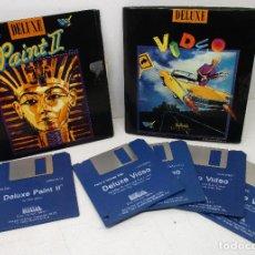 Videogiochi e Consoli: PROGRAMAS DELUXE VIDEO + PAINT II-ELECTRONIC ARTS 1986-87-CASTELLANO,3 1/2, 3'5, COMMODORE AMIGA. Lote 136637782