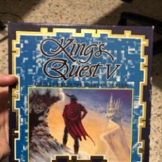 Videojuegos y Consolas: JUEGO AMIGA KING QUEST V. Lote 139925646