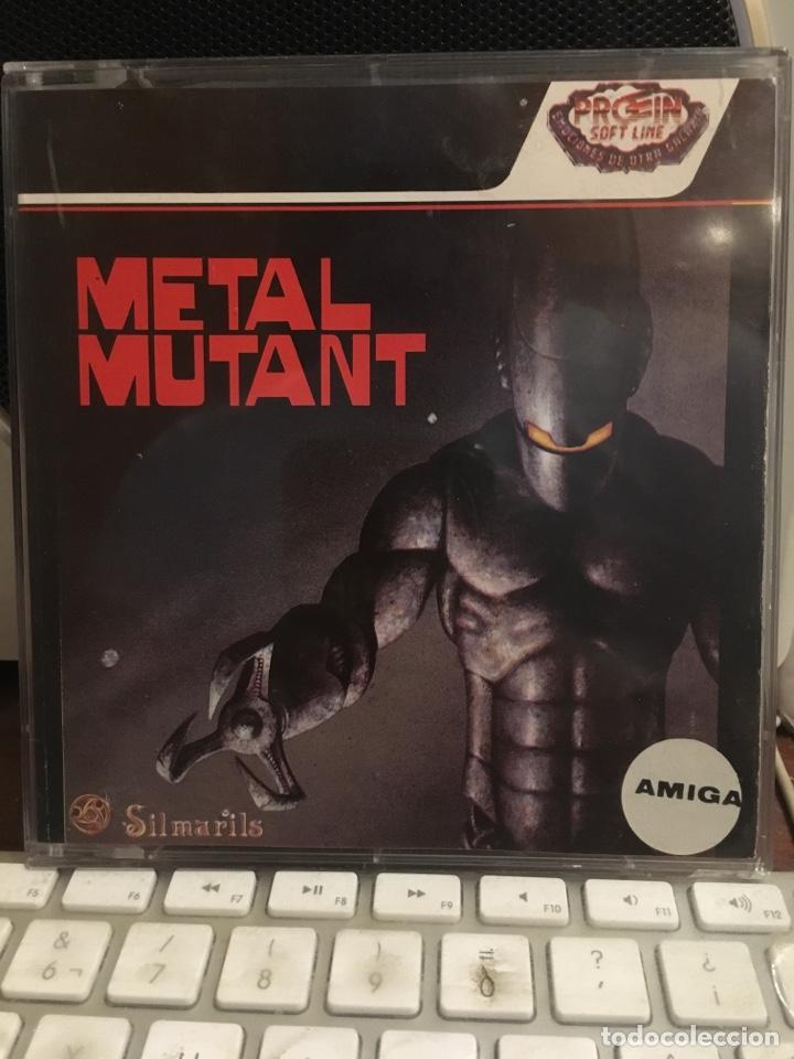 METAL MUTANT-PARA COMMODORE AMIGA-SILMARILS-COMODORE (Juguetes - Videojuegos y Consolas - Amiga)