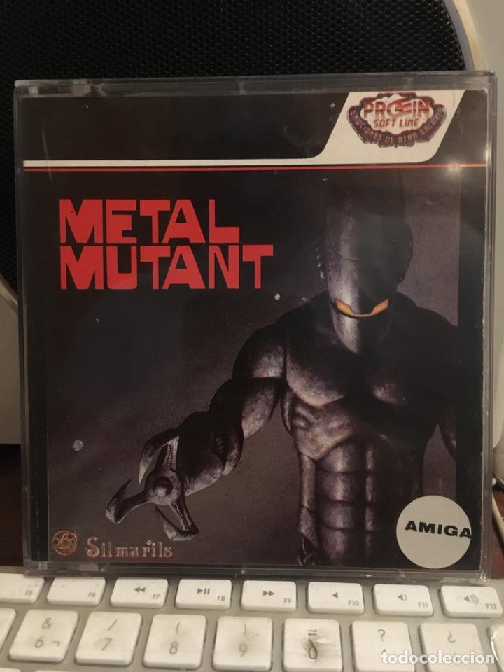 Videojuegos y Consolas: METAL MUTANT-PARA COMMODORE AMIGA-SILMARILS-COMODORE - Foto 2 - 141263146