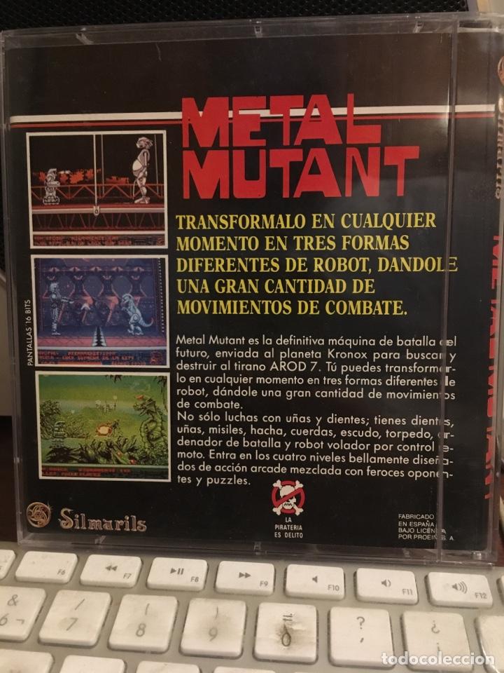Videojuegos y Consolas: METAL MUTANT-PARA COMMODORE AMIGA-SILMARILS-COMODORE - Foto 3 - 141263146