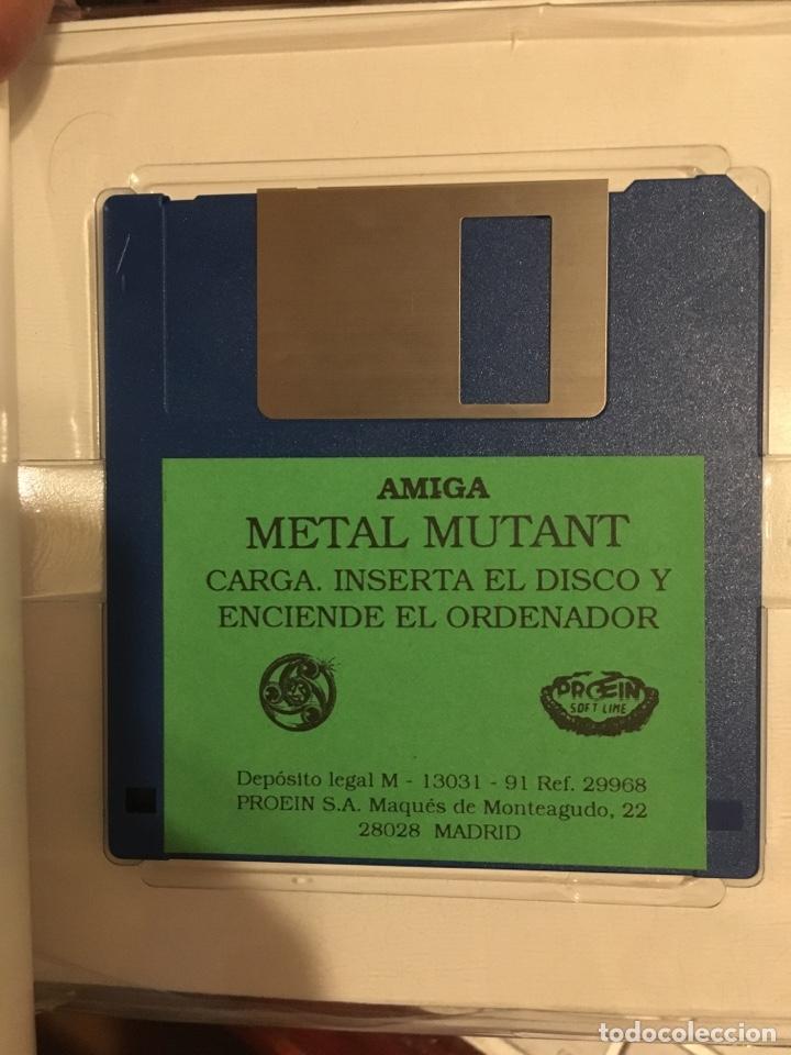 Videojuegos y Consolas: METAL MUTANT-PARA COMMODORE AMIGA-SILMARILS-COMODORE - Foto 7 - 141263146