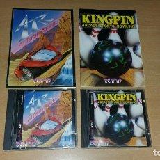 Videojogos e Consolas: 2 JUEGOS ALL TERRAIN RACING + KINGPIN ARCADE AMIGA CD 32 VERSION PAL TEAM 17. Lote 114682675