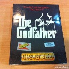 Videojuegos y Consolas: JUEGO PARA PC AMIGA DE US GOLD/ ERBE - THE GODFATHER - EL PADRINO (1991). EN CAJA CARTÓN PRECINTADO. Lote 143294470