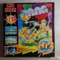 Videojuegos y Consolas: PANG-COMMODORE AMIGA-MITCHELL CORP.-AÑO 1990-CAJA BOX-MUY DIFÍCIL.JUEGAZO MUY ADICTIVO.. Lote 147614598