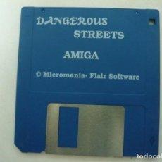 Videojuegos y Consolas: DANGEROUS STREETS - COMMODORE AMIGA - VIDEOJUEGO CLÁSICO - EN DISKETTE - RETRO, VINTAGE . Lote 151087746