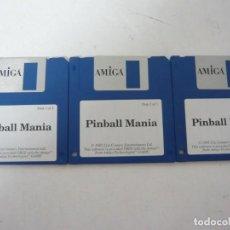 Videojuegos y Consolas: PINBALL MANIA - COMMODORE AMIGA - VIDEOJUEGO CLÁSICO - EN DISKETTE - RETRO, VINTAGE . Lote 151088058