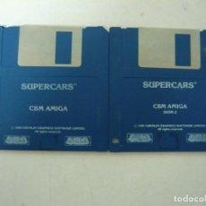Videojuegos y Consolas: SUPERCARS - COMMODORE AMIGA - VIDEOJUEGO CLÁSICO - EN DISKETTE - RETRO, VINTAGE . Lote 151088438