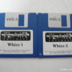 Videojuegos y Consolas: WHIZZ - COMMODORE AMIGA - VIDEOJUEGO CLÁSICO - EN DISKETTE - RETRO, VINTAGE . Lote 151088706