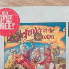 Videojuegos y Consolas: DEFENDER OF THE CROWN-COMMODORE AMIGA-CAJA-BOX-CINEMAWARE-AÑO 1988-SIN ESTRENAR.. Lote 152505510